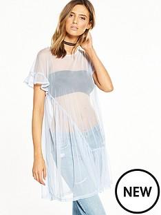 river-island-light-blue-mesh-dress