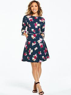 myleene-klass-scoop-back-tea-dress