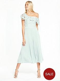 coast-melinda-pleated-lace-jumpsuit