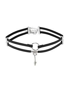 river-island-2-row-circle-choker