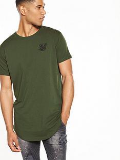 sik-silk-curved-hem-tshirt