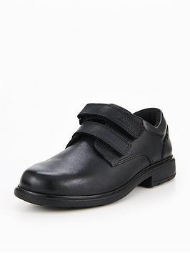 clarks remi pace infant shoes - black