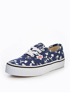 vans-peanuts-authentic-childrens-trainer