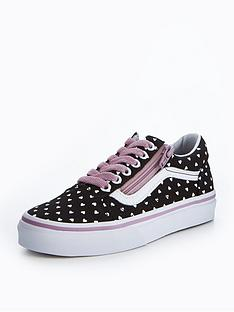 vans-old-skool-zip-heart-print
