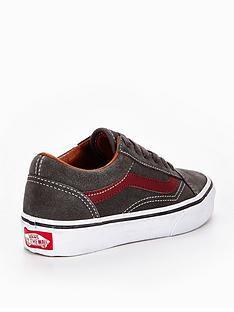 vans-old-skool-suede-childrens-trainer