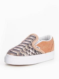 vans-vans-infant-classic-slip-on-metallic-snake
