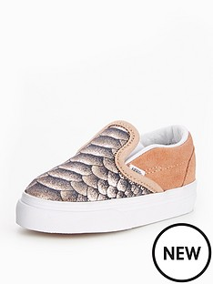 vans-vans-infant-classic-slip-on-metallic-snake
