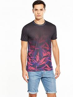 v-by-very-ss-leaf-ombre-printed-tee