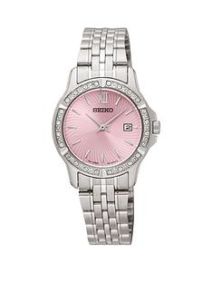 seiko-pink-dial-stainless-steel-quartz-bracelet-ladies-watch