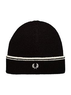 fred-perry-twin-tipped-lambswool-beanie
