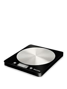 Salter Salter Disc Electronic Kitchen Scale  Black