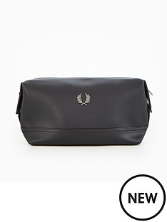 fred-perry-pique-texture-travel-kit-bag