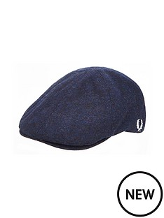 fred-perry-wool-flat-cap