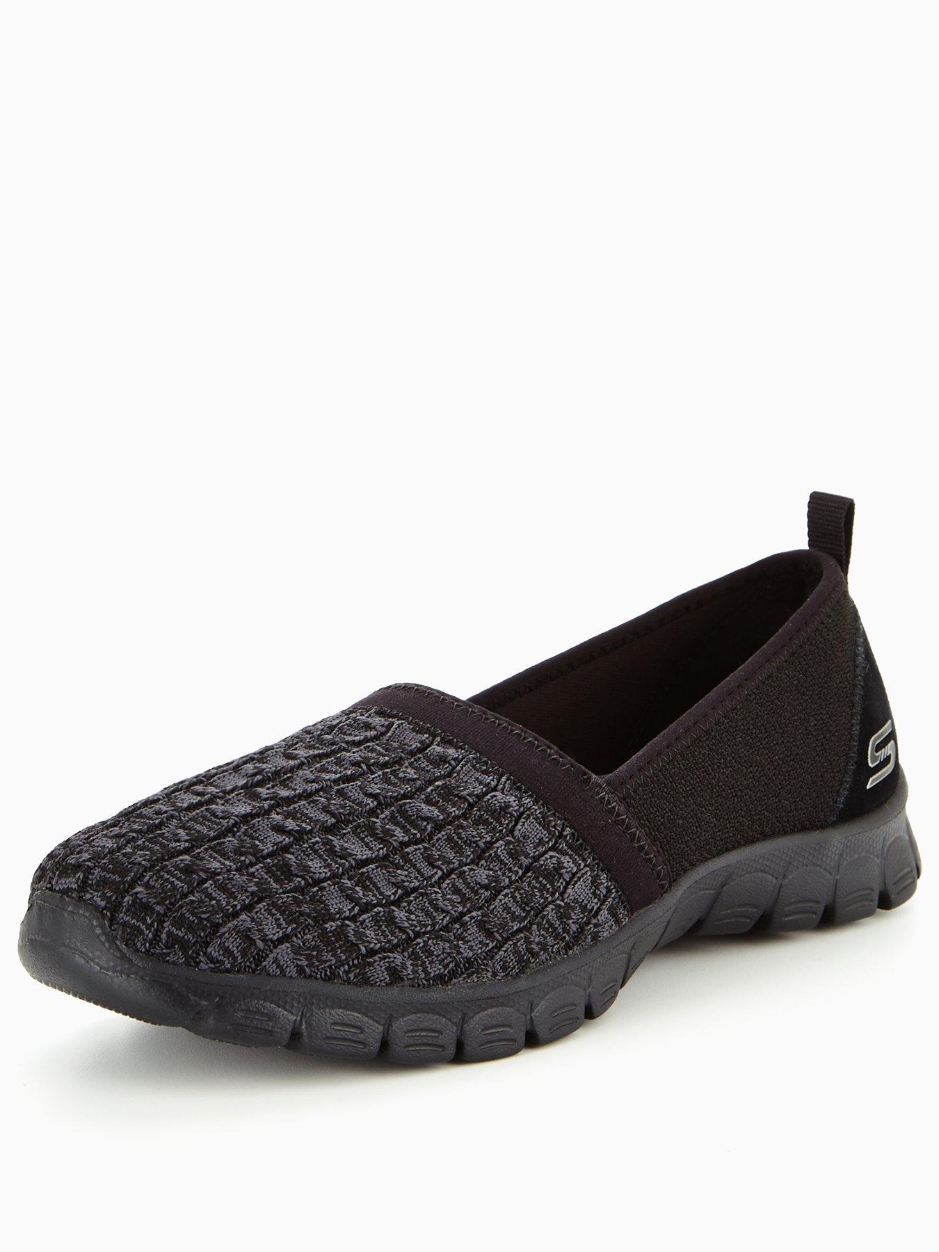 Skechers Ez Flex 3 0 Snugbug Slip On Shoe Black 1600168649 Women's Shoes Skechers Trainers
