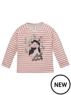 mini-v-by-very-toddler-girls-stripe-best-friends-cat-tee