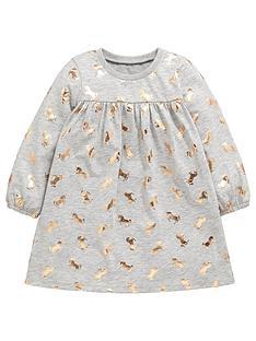 mini-v-by-very-girls-foil-unicorn-print-grey-jersey-dress