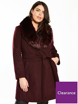 v-by-very-curve-faux-fur-collar-wrap-coat