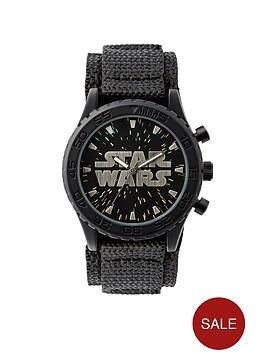 star-wars-black-velcro-strap-kids-watch
