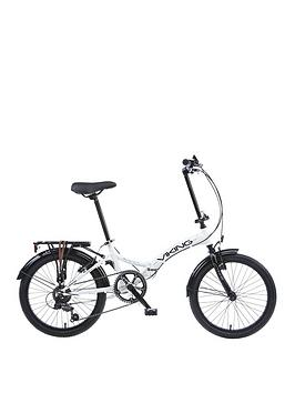 Viking Metropolis Unisex 6 Speed Folding Bike 13 Inch Frame