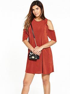 v-by-very-cold-shoulder-frill-rib-dress