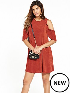 v-by-very-cold-shoulder-frill-rib-dress