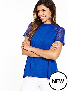 v-by-very-lace-shoulder-swing-top