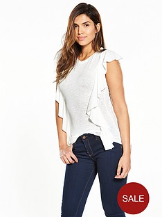 v-by-very-frill-snit-top-white