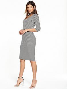 v-by-very-choker-rib-jersey-midi-dress
