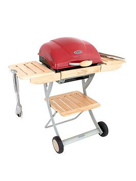 Outback Omega 200 Red Charcoal Bbq