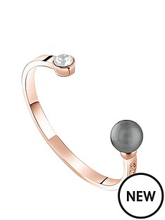 guess-rose-gold-plated-pearl-andnbspswarovskireg-crystal-bangle
