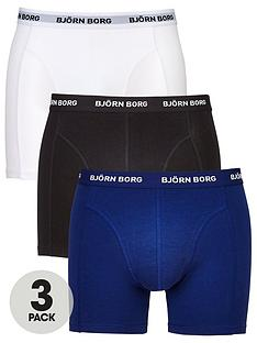 bjorn-borg-3pk-plain-trunks