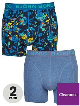 bjorn-borg-2pk-floralplain-trunks