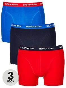 bjorn-borg-3pk-plain-trunks