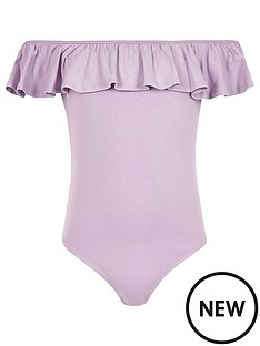 river-island-girls-purple-ruffle-bardot-bodysuit