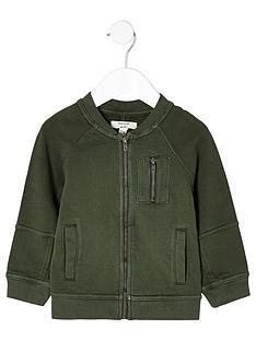 river-island-mini-boys-khaki-soft-bomber-jacket