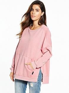 reebok-favorite-oversized-sweater-peachnbsp