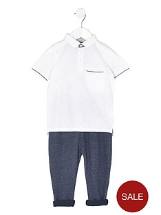 river-island-mini-boys-white-tipped-polo-shirt-outfit