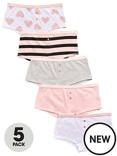 v-by-very-5pk-heartstripe-boyfriend-shorties