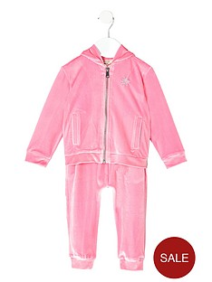 river-island-mini-girls-pink-velour-hoodie-outfit