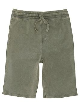 river-island-boys-green-washed-jersey-shorts