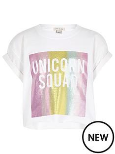 river-island-girls-039unicorn-squad039-print-t-shirt