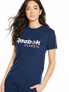 reebok-classics-logo-t-shirt-navynbsp