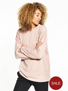 reebok-classics-sweat-top-dusty-rose