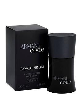 Armani Armani Code For Men 30Ml Edt Picture
