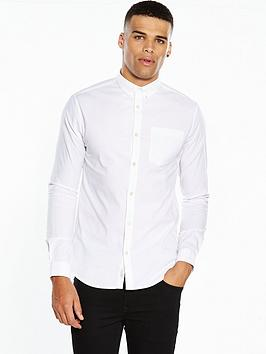 river-island-long-sleeve-muscle-fit-oxford-shirt