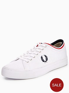 fred-perry-kendrick-canvas-plimsoll