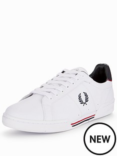 fred-perry-fred-perry-b722-leather-plimsoll-whitenavy