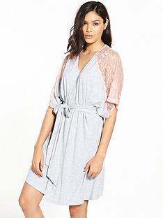 v-by-very-lace-trim-kimono-robe-grey