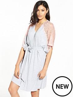 v-by-very-lace-trim-kimono-robe-grey