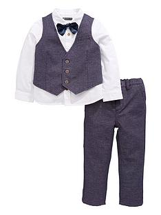 mini-v-by-very-boys-4-piece-bow-tie-occasion-wear-set